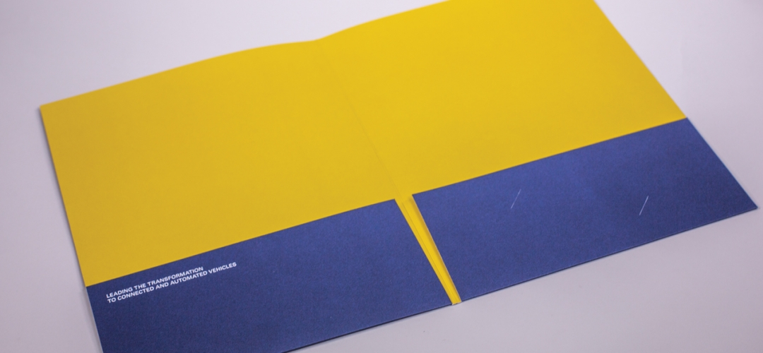 University of Michigan Pocket Folder